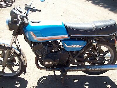 1977 YAMAHA RD 400 2 Stroke Motorcycle Barn Find Classic Collectable Rare  Cool