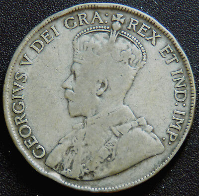 Canada 1920 George V Fifty Cents   #140342