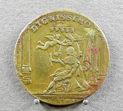 French, Antique Token. King, Louis XVI, Dignissimo. Medal.