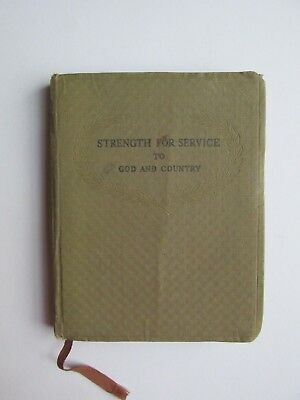 WWII Strength for Service to God and Country, Daily Devotional - 1942