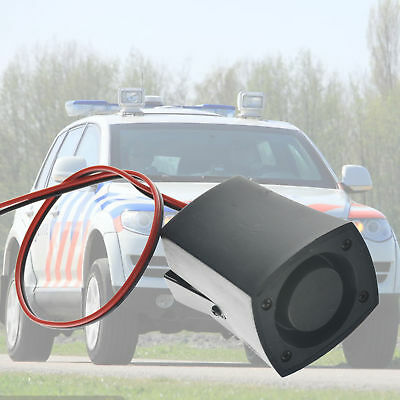 6 Tones Loud Sound Car Police Fire Alarm Horn 12-24V Warning Truck Boat Siren