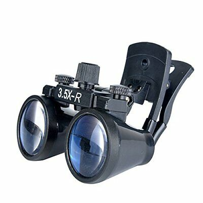3.5X-R Dental Binocular Loupes Surgical Glasses Magnifier Clip-on Style