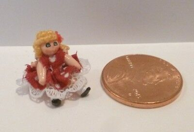 """Tiny Miniature Doll 1/2"""" Tall    Deals Today 9/21       100 Listings 10.00 Each"""