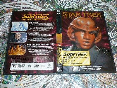 Star Trek The Next Generation (Collectors Edition) Tng 19 (Dvd, Pg) (132781 A)