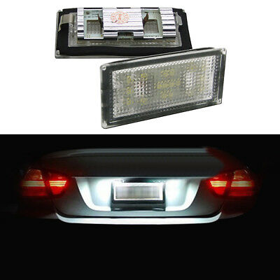 Light Spreading widely LED License Number Plate Canbus For BMW E65 E66 2001-2008