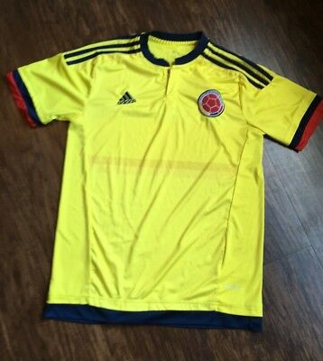 8dd9912eb Colombia National Team Adidas Jersey 2015-2017 Adidas Mens L Large Excellent