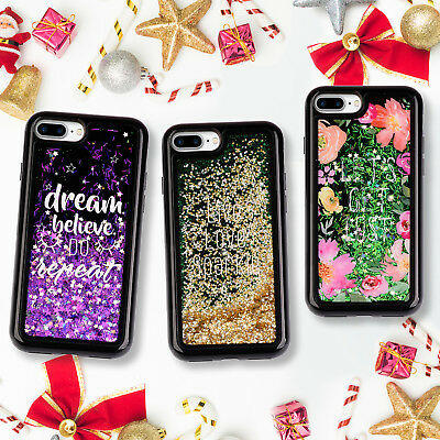 Dynamic Liquid Glitter Quicksand TPU Phone Cover Case For iPhone 7 Plus 8 Plus
