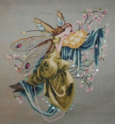 Lilly of The Woods Fairy  - Cross Stitch Chart - Digital Format