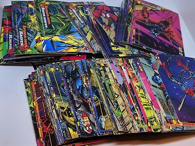 1994 Fleer Spiderman Trading Cards Nearly Complete Set 149/150 M/NM