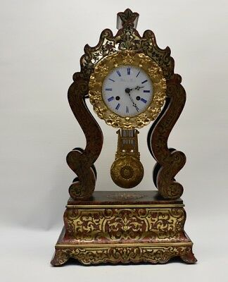 French boulle mantle clock