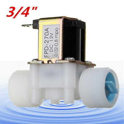 G3/4'' 12V DC Electric Solenoid Magnetic N/C Normally Closed Water Air Gas Valve