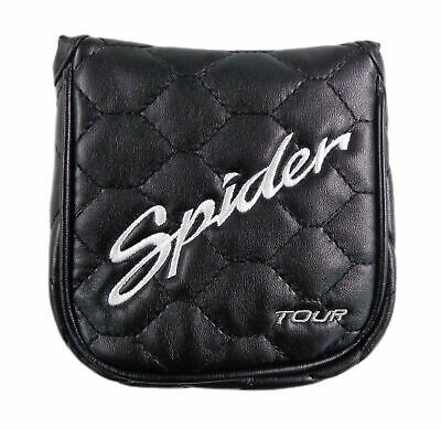 Golf Putter Cover - TaylorMade Golf Spider Tour Black Putter Head Cover