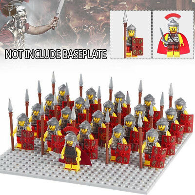 21Pcs Roman Military Centurion Soldiers Minifigures Army Toys Collection Gifts