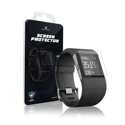 EXINOZ® Fitbit Surge Screen Protector I High-quality Protection with Warranty