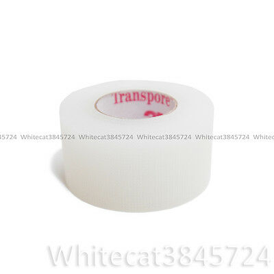 """3M TRANSPORE SURGICAL TAPE HYPOALLERGENIC FIRST AID 1"""" 10YD (2.5 cm X 9 m)"""