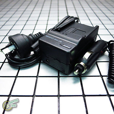 AC Car NB13L Battery Charger for Canon PowerShot SX620HS SX720HS G 7X 9X Mark II