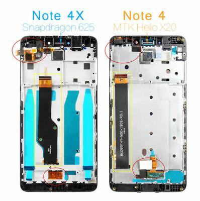 Xiaomi Redmi Note 4X/Note 4 Global Version (note 4X) LCD Touch Screen + Frame