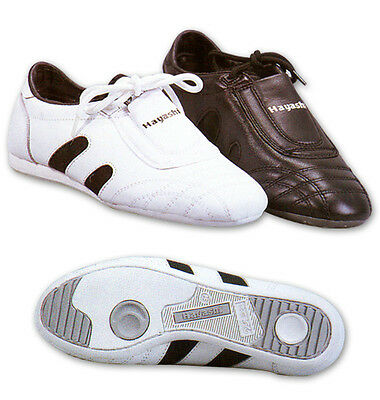 Leather Martial Art Shoes - White