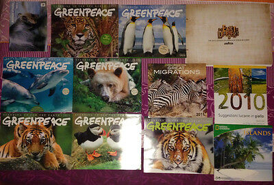 Calendario Greenpeace National Geographic Wwf