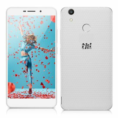 5,5 Zoll 2GB+16GB THL T9 Plus 4G LTE Handy Smartphone QUADCORE WEISS Android 6,0