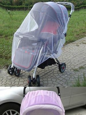 Baby Elastic stretches Stroller Pram Mosquito Net Baby Protection Insect Cover