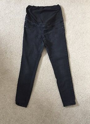 New Look Maternity Jeans. Dark Grey. Over Bump. Size 10.