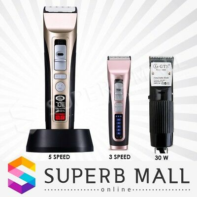 Professional Electric Dog Pet Clipper Animal Cat Grooming Hair Trimmer Kit