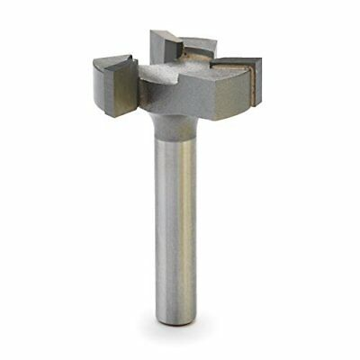 """Spoilboard Surfacing Router Bit 1/4"""" Shank 6210 CNC Durable  1pc Silver"""