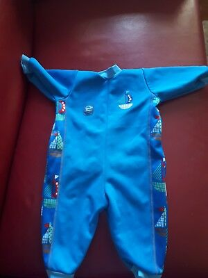 Boys Warm In One Swim Suit 3-6month