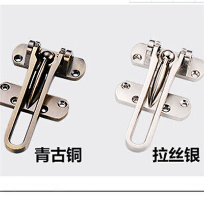 Security Guard Restrictor Window Door Lock Latch Safety Chain Catch N7