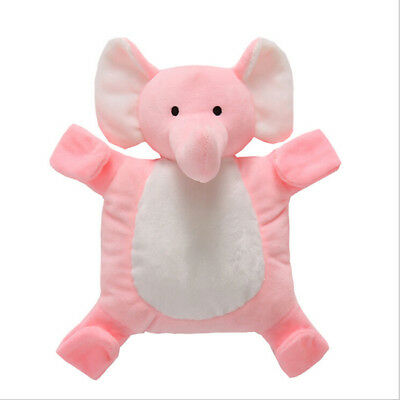Baby Toddler Newborn Plush Animal Elephant Sleep Appease Towel Blanket N7