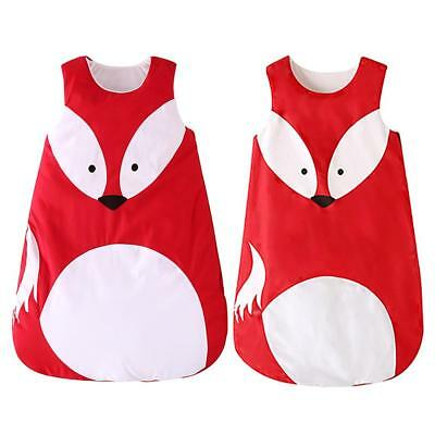 AU Stock Cute Animal Fox Newborn Baby Infant Toddlers Swaddle Wraps Sleeping Bag