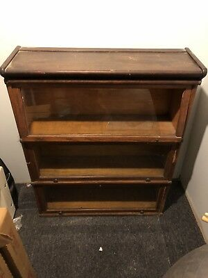 Barrister Bookcase 3 Sections