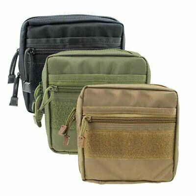 Tactical Molle First Aid Medic Pouch Organizer Utility Phone Bag Waist Backpack