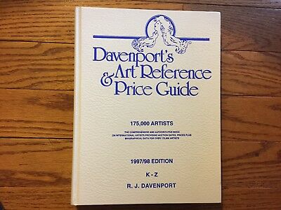 Davenport's Art Reference and Price Guide, 1997-1998 Set by R. J. Davenport (199