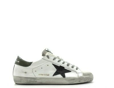 wholesale dealer 6570f 40835 SCARPE GOLDEN GOOSE Uomo SNEAKERS TRENDY BIANCO Pelle naturale G33MS590L31
