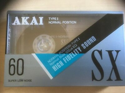 Akai Sx 60 Factory Sealed Audio Cassette Japan