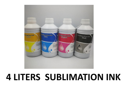 Dye Sublimation ink 4Liter BMYK for any inkjet and wide format Epson printers