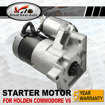 Starter Motor For Holden Commodore Calais VR VS VT VX VY V6 3.8L Manual Petrol