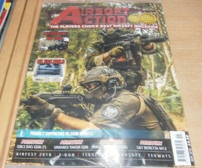 Airsoft Action magazine Nov 2018 NAF 2018 + Airfest 2018, S&T Beretta M12 & more