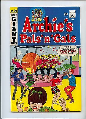 Archie's Pals and Gals #39 Giant Double Sized issue