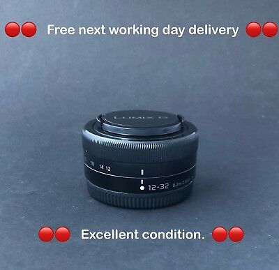 Panasonic Lumix G Vario 12-32mm m4/3 Micro Four Thirds. **Free Special Delivery