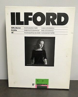 Ilford Photographic Paper 11 x 14 - 50 Sheets (See Details)