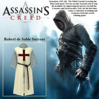 Robert de Sable Tunic, Assassins Creed Clothing Perfect For Costume Re-enactmet