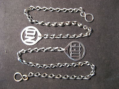 'on - Off' Chain Pulls For Gas Lamps.
