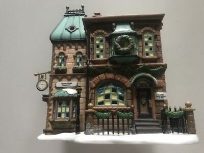 Dept.56 Heritage-Dickens Collection  Thomas Mudge Timepieces