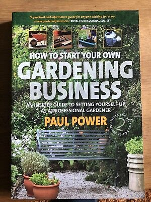 How to Start Your Own Gardening Business: An Insider Guide to Setting...