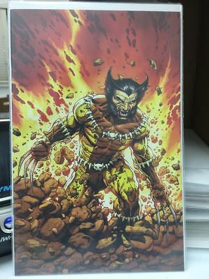 Return Of Wolverine #1 Mcniven Fang Costume Virgin Variant 1:200 Marvel Comics