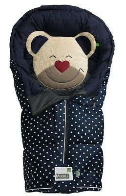 BRAND NEW Mucki by Odenwalder baby nest sleeping bag water and wind resistant