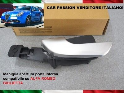 Alfa Romeo Giulietta 2010> Inner Door Handle Front Right Rh New High Quality